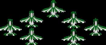 تسلسل العرض الجوي ٢٠٢١