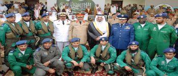 فريق «الصقور السعودية» يشارك في معرض القوات المسلحة بخميس مشيط