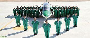 فريق الصقور السعودية أظهر دقة متناهية في «انقضاضة الصقر»