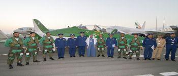 فريق الصقور السعودية يقدم أول عروضه الجوية في البحرين