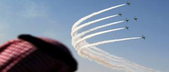 الصقور السعودية يشارك في مهرجان طيران للوطن