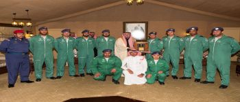 ختام مشاركة فريق الصقور السعودية بمهرجان الغضا ١٤٣٧هـ