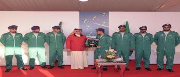 ختام مشاركة فريق الصقور السعودية معرض البحرين الدولي للطيران ٢٠١٦