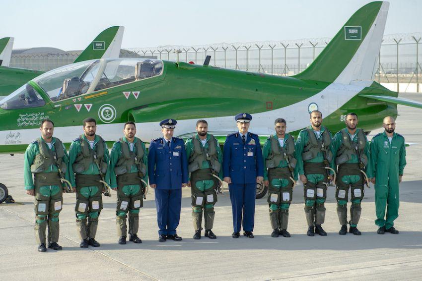 """فريق الصقور السعودية يشارك في """"معرض دبي الدولي للطيران 2019"""""""